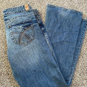 maurices boot cut/flare size 9/10 reg light wash